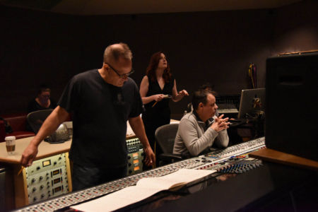 At Capitol Records with Laura Dickinson 1